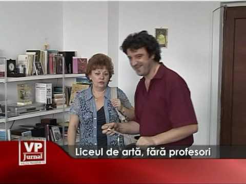 Liceul de arta, fara profesori