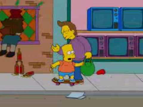 Bart Simpson Gets fat