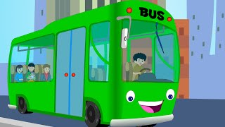 Canzoni per bambini e bimbi piccoli - Wheels on the Bus compilation - Italian Baby music songs Video