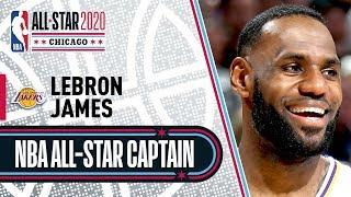 LeBron James 2020 All-Star Captain | 2019-20 NBA Season by NBA