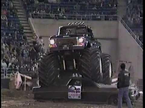 Seattle Mud Jam 86 monster truck TV ad 1986
