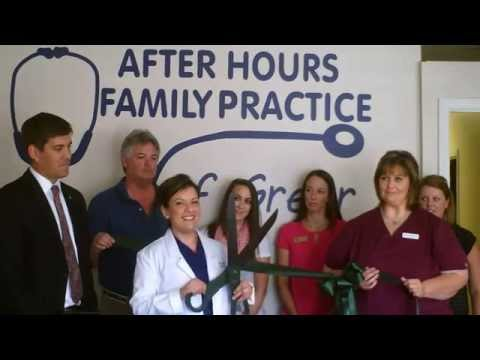 After Hours Family Practice Ribbon Cutting