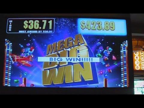 Exotic Treasures SUPER MEGA HUGE BIG WIN Slot Machine Bonus Progressive Jackpot
