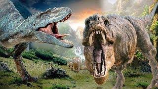 🔴 ¿COMBATES DE T-REX? - JURASSIC WORLD EVOLUTION #4