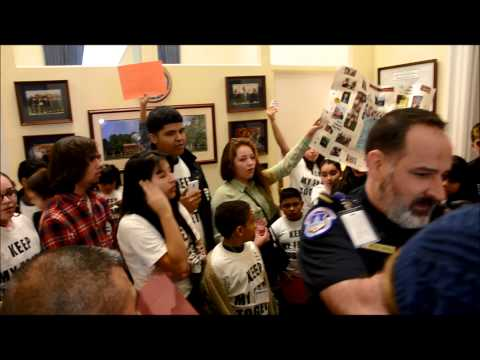 has - December 5, 2013: Young immigrant rights activists were kicked out of House Majority Leader Eric Cantor's office after trying to get a meeting with him. His ...