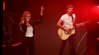The Chainsmokers & Kelsea Ballerini's World Premiere of 'This Feeling'