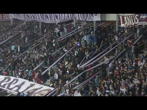 La hinchada de Lanus previo a la final con San Lorenzo - La Barra 14 - Lanús