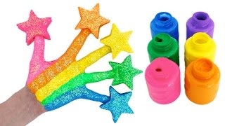 Video Learn Colors for Children Body Paint with Play Doh Stars & Finger Family Nursery Rhymes MP3, 3GP, MP4, WEBM, AVI, FLV Mei 2017
