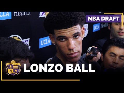 Video: Lakers Workout UCLA's Lonzo Ball (FULL INTERVIEW)