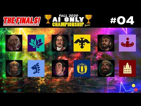 AI ONLY Championship Series - THE FINALS!  | Civilization 6 | Episode #4