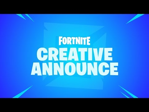 Fortnite - Creative Announcement - Thời lượng: 62 giây.
