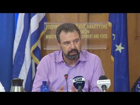 Στ.  Αραχωβίτης: «Στόχος μας να βελτιώσουμε το εισόδημα του αγρότη»