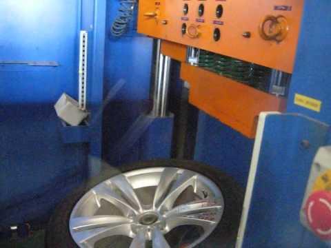 Тест дисков реплика WSP Italy W673 NEPTUNE на удар обода (BMW)