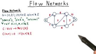 Flow Networks - Georgia Tech - Computability, Complexity, Theory: Algorithms