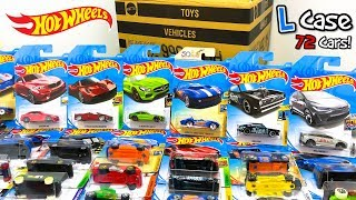 Download Lagu Unboxing Hot Wheels 2018 L Case 72 Car Assortment! Mp3