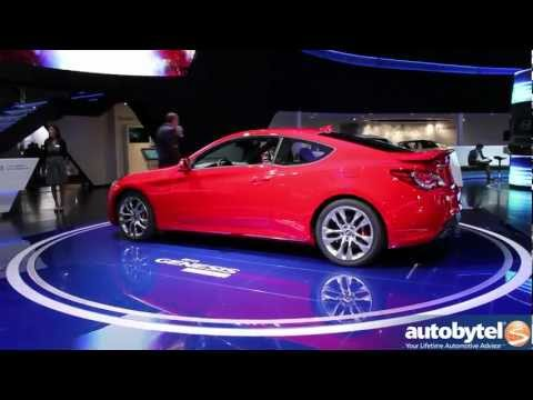 2013 Hyundai Genesis Coupe at the 2012 Detroit Auto Show video