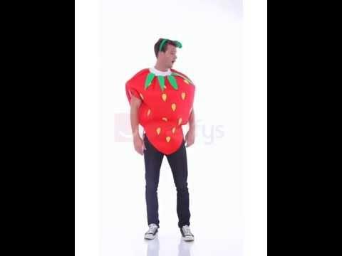 Costume de fraise
