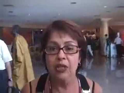 Aspasia Camargo em Bali na COP 13