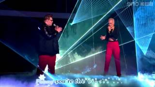 Jessie J - 'Stay' LYRICS (feat. Ash Morgan and Matt Henry) - The Voice UK