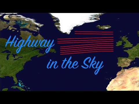 Letecká dálnice přes Atlantik