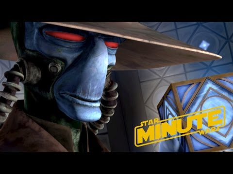 Cad Bane (Canon) - Star Wars Minute