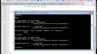 how to insert values in ms access using java ,how to delete data from database in java video tutorialmore tutorial visit http://javaprogram99.blogspot.in/