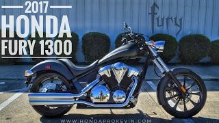 2. 2017 Honda Fury 1300 Review of Specs / Walk-Around | Chopper / Cruiser Motorcycle - VT13CX