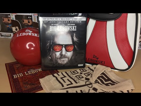 The Big Lebowski - 20th Anniversary Limited Edition 4K Ultra HD Blu-ray Gift Set Unboxing