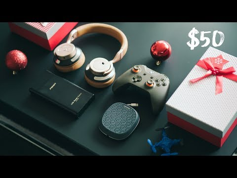 BEST TECH UNDER $50 - December 2017 Holiday Gift Guide + GIVEAWAY