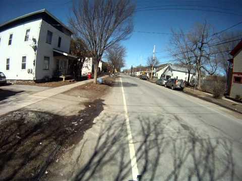 Burlington , Vt  bike ride