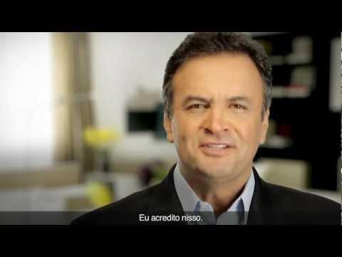 Senador Aécio Neves: Inserções PSDB 2012 – Vídeo 1