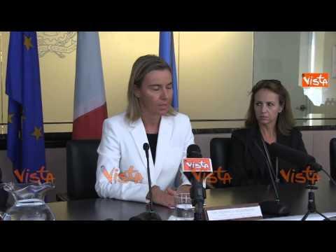 Mogherini sui Maro mesi cruciali massimo impegno dal governo