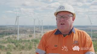 Coopers Gap Wind Farm Construction Update August 2020