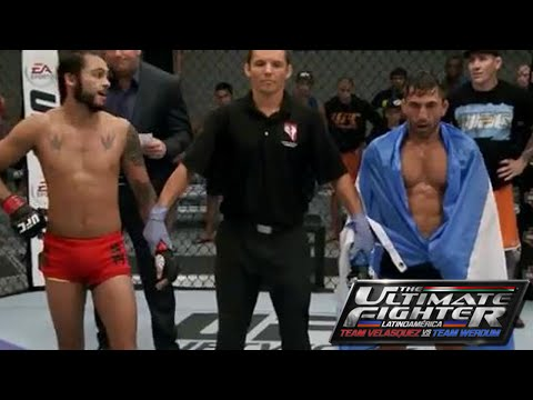"The Ultimate Fighter Latinoamerica Episodio 7 Marco ""Psycho"" Beltrán derrotó a Guido ""Ninja"" Canetti"