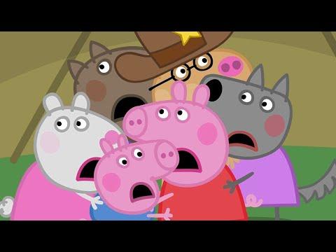 Peppa Pig en español - Canal Kids - Español Latino -  Episodios completos LA TELA DE ARAÑA  Pepa la cerdita
