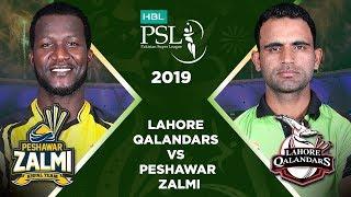 Match 25: Full Match Highlights Lahore Qalandars vs Peshawar Zalmi | HBL PSL 4 | HBL PSL 2019