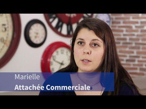 Video Opération Passerelle, épisode 2 : Marielle (attachée commerciale)