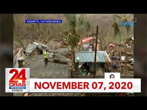 24 Oras Weekend Express: November 7, 2020 [HD]