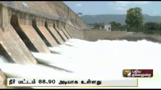 Water supply stopped from Mettur dam as rain continues