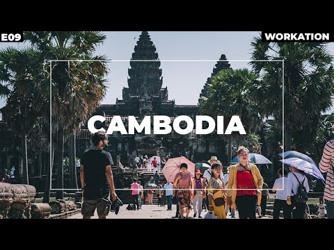 WORLD'S LARGEST HINDU TEMPLE IN CAMBODIA! Angkor wat