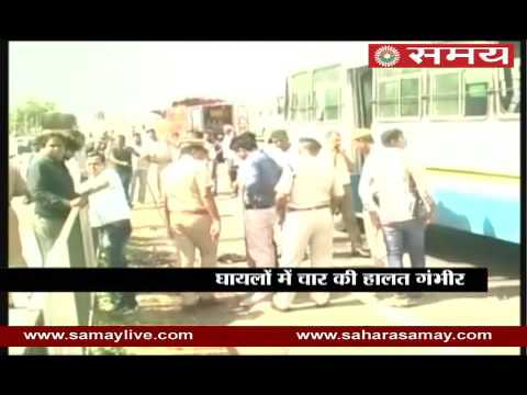 Tremendous blast in Haryana roadways bus in Kurukshetra