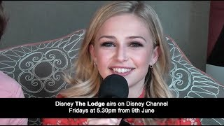 Sophie Simnett who plays Skye in Disney The Lodge tells you about the second season of The Lodge starting on Disney Channel at 5.30pm on Friday June 9.Watch the full interview with Sophie, Luke Newton and Josh Sinclair-Evans here: https://youtu.be/Oxf0Z69PHpIWatch the full interview with Thomas Doherty, Bethan Wright, Mia Jenkins and Jayden Revri here: https://youtu.be/vy9LVeuZLLs