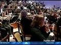 """Видеоновость Калининград. Жители впервые увидели световую постановку """"Поэм"""" Скрябина"""