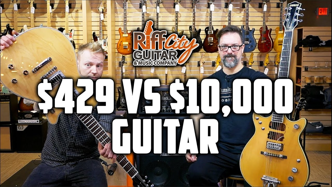 $429 VS $10,000 Gretsch Guitar – Riff City Guitar