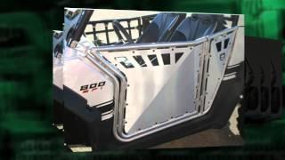 8. Pro Armor RZR S Doors.from sidebysidesstuff.com RZR 800 Doors Pro Armor