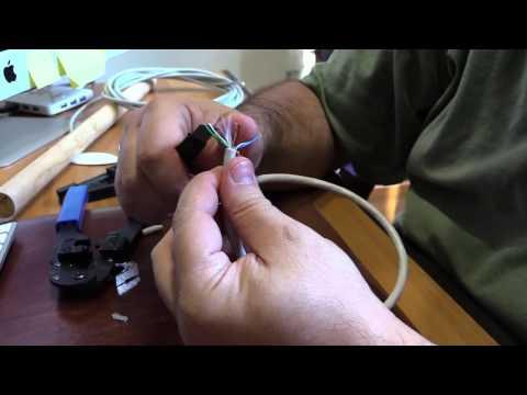 Micro corso: come realizzare un cavetto ethernet cat 5e o cat 6