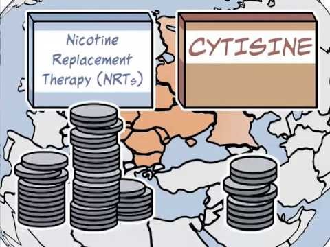Cytisine is better than nicotine-replacement therapy in helping smokers quit (NEJM video)