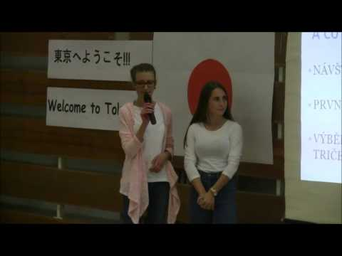 První shromáždění s lekcí japonštiny