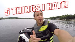 7. 5 Things I HATE About My SeaDoo GTI