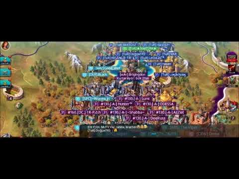 March Of Empires  Realm180   TuR [AYYILDIZ]   RvR (130-160-180)